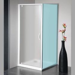 GELCO - ETERNO sprchové dveře 800mm, sklo BRICK (GE7680)
