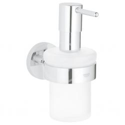 GROHE - Essentials Dávkovač tekutého mýdla s držákem, chrom (40448001)