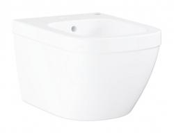 GROHE - Euro Ceramic Závěsný bidet s přepadem, alpská bílá (39208000)