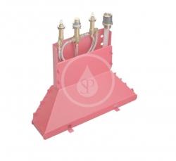 HANSGROHE - Montážní tělesa Základní těleso čtyřotvorové vanové baterie na okraj vany (13444180)