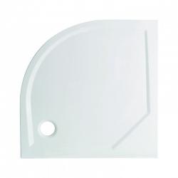 HOPA - Čtvrtkruhový sprchový box GRANADA - BARVA rámu/profilu - Chrom/Leštěný hliník (ALU), Rozměr A - 90 cm, Rozměr B - 90 cm, Vanička HL - Vanička z litého mramoru (OLBGRA90CMBV+VANKSOF90NNEW)