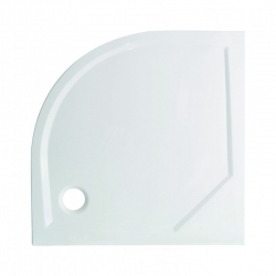 HOPA - Čtvrtkruhový sprchový box GRANADA - Barva rámu zástěny - Hliník chrom, Rozměr A - 90 cm, Rozměr B - 90 cm, Vanička HL - Vanička z litého mramoru (OLBGRA90CMBV+VANKSOF90NNEW)