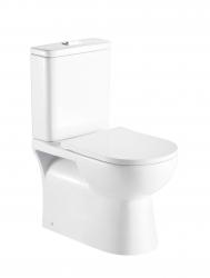 HOPA - Kombi WC PROGETTO RIMLESS se SLIM sedátkem Soft-close (OLKLT2131AR)