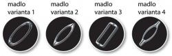 HOPA - Madlo sprchových dveří - Varianta madel - Varianta 1 (BCMADLO02)