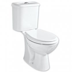 HOPA - WC kombi CARMINA - spodní odpad - WC sedátko - Sedátko - DUROPLAST (OLKGCA02KLZ02M+OLKGYM00DRP01)