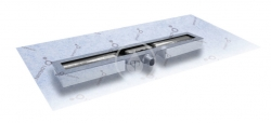 I-Drain - Linear 54 ABS sprchový žlab s hydroizolací, délka 600 mm (IDABS4M06001X1)