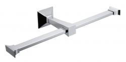 IBB - FIRENZE držák toaletního papíru dvojitý, chrom (FI11D)