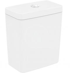 IDEAL STANDARD - Connect Splachovací nadrž Cube, spodní napouštění, Dual Flush, bílá (E797001)