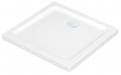 IDEAL STANDARD - Connect Sprchová vanička keramická 800 x 800 mm, s Ideal Grip, bílá (T2661YK)