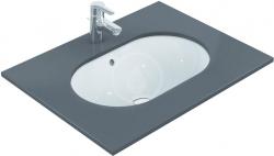 IDEAL STANDARD - Connect Umyvadlo pod desku, 620x410 mm, s přepadem, bílá (E505001)