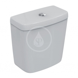 IDEAL STANDARD - Contour 21 Splachovací nádržka, spodní napouštění, Dual Flush, bílá (E875901)