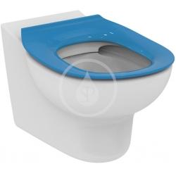 IDEAL STANDARD - Contour 21 WC sedátko dětské 7-11 let (S3128 a S3126) bez poklopu, modrá (S454536)