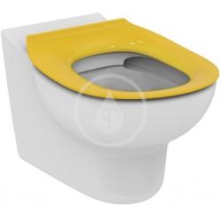IDEAL STANDARD - Contour 21 WC sedátko dětské 7-11 let (S3128 a S3126) bez poklopu, žlutá (S454579)