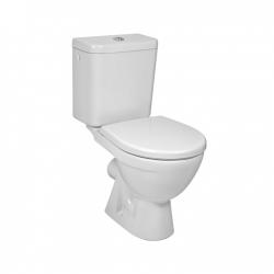 JIKA - Lyra plus WC kombi, zadní odpad, boční napouštění, bílá (H8263860002413)