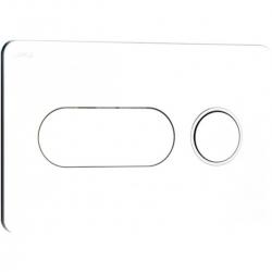 JIKA - Modul Ovládací tlačítko PL8, Dual Flush, lesklý chrom (H8936460040001)