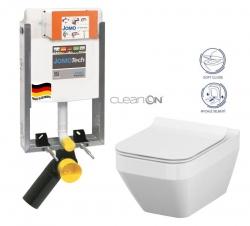 JOMO modul pro zazdění bez sedátka + WC CERSANIT CLEANON CREA čtverec + SEDÁTKO (164-14600479-00 CR2)