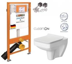 JOMOTech modul pro závěsné WC bez sedátka + WC CERSANIT CLEANON SPLENDOUR + SEDÁTKO (174-91100700-00 SP1)