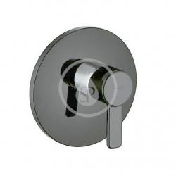 KLUDI - Zenta Sprchová baterie pod omítku, černá/chrom (388608675)