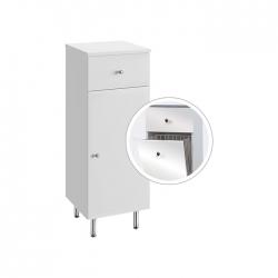 Koupelnová doplňková skříňka nízká s výklopným košem Vilma NK 32 ZV   A-Interiéry (vilma nk32zv)