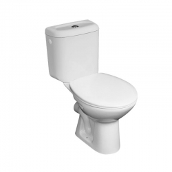 MEREO - WC kombi, zadní odpad s armaturou (VSD90 (H8602760007871))