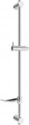 MEXEN - DF Posuvný držák sprchy s mýdlenkou, 80 cm, chrom (79382-00)
