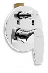 NOVASERVIS - Vanová sprchová baterie s přepínačem Nobless Wat chrom (39050R,0)