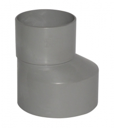 Plast Brno - PVC redukce 110/50 excentr. 84348 (84348)