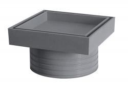Plast Brno - Rám podlahové vpusti 50 pro vložení dlažby NSI008D (NSI008D)