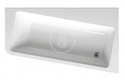 RAVAK - 10° Asymetrická vana 160 R, 1600x950 mm, pravá, bílá (C841000000)