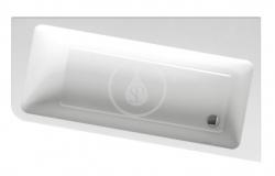 RAVAK - 10° Asymetrická vana 170 R, 1700x1000 mm, pravá, bílá (C821000000)