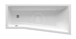 RAVAK - BeHappy II Vana asymetrická 1600x750 mm, levá, bílá (C961000000)
