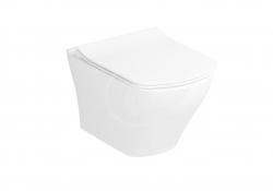 RAVAK - Classic Závěsné WC, RimOff, bílá (X01671)
