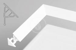 RAVAK - Příslušenství Koncovka krycí lišty 10, bílá (XB430001001)