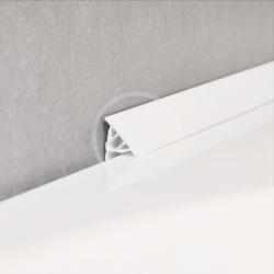 RAVAK - Příslušenství Krycí lišta, 11/1100 mm, bílá (XB461100001)
