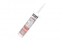 RAVAK - Příslušenství Silikonový tmel Professional, bílý (X01200)