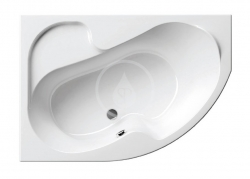 RAVAK - Rosa I Asymetrická vana 160 L, 1600x1050 mm, levá, bílá (CM01000000)