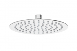 RAVAK - Sprchy Hlavová sprcha 984.01 Slim, průměr 200 mm, chrom (X07P335)