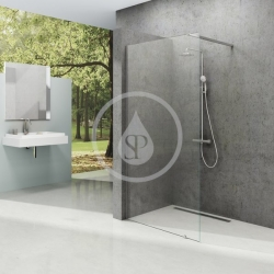 RAVAK - Walk-In Sprchová stěna Walk-in Wall 150, 1500x2000 mm, lesklý hliník/čiré sklo (GW9WP0C00Z1)