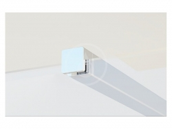 RAVAK - Walk-In Vzpěra W-SET 100 Wall/Corner, chrom (GWD01000A095)