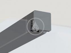 RAVAK - Walk-In W SET-80 Wall/Corner vzpěra, černá (GWD010003017)