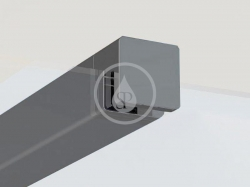 RAVAK - Walk-In W SET-90 Wall/Corner vzpěra, černá (GWD010003018)