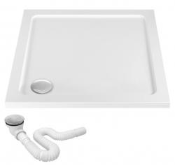 REA - Akrylátová sprchová vanička Ego 900x900x50 mm bílá (REA-K012K) VÝPRODEJ