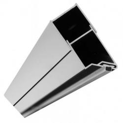 REA - Magnetický uzavírací profil pro dveře Molier chrom (REA-K3261)