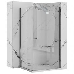 REA/S - Sprchový kout BEST zalamovací dveře/stěna 100x90 (BESTDS100090)
