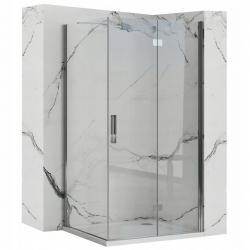REA/S - Sprchový kout MOLIER dveře/stěna 80X100 (MOLDS080100)