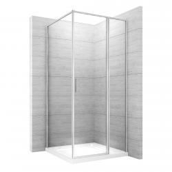 REA - Sprchový kout Atrium Square 80x100 pravý (REA-K8002)
