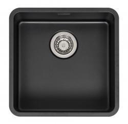 Reginox - Nerezový dřez Ohio 40x40, Jet black (R32725)