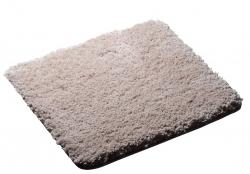 RIDDER - SOFTY předložka 55x50cm s protiskluzem, polyester mikrovlákno, béžová (745809)