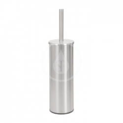 SANELA - Nerezové doplňky WC kartáč s držákem, povrch matný (SLZN 19X)
