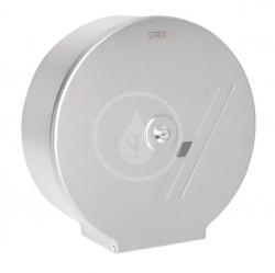 SANELA - Nerezové doplňky Zásobník na toaletní papír 290x100 mm, matný nerez (SLZN 37)